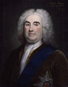 Sir Robert Walpole. Wikimedia Commons