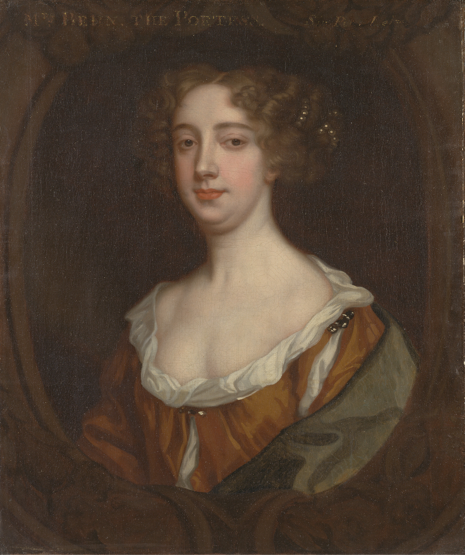 Aphra Behn, as painted by Peter Lely, around 1670 [Wikimedia Commons]