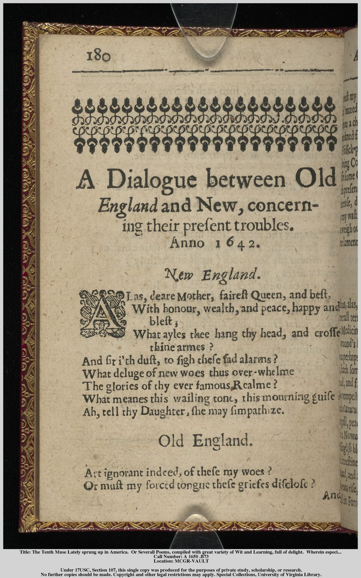 a tone of contempt and criticism in the author to her book by anne bradstreet The author to her book by anne bradstreet is in extended metaphor in heroic couplets—two-line groupings in iambic pentameter with an aa bb cc rhyme scheme iambic describes a way to write and read poetry according to stressed and unstressed syllables.