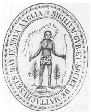 The corporate seal of the Massachusetts Bay Company, founded in 1629. [Wikimedia Commons]