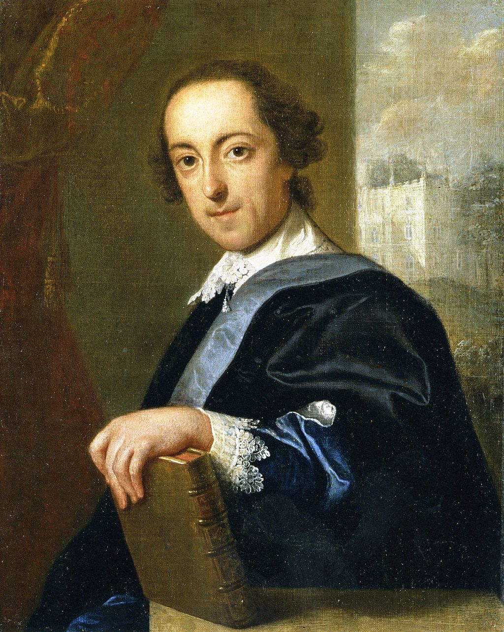 Horace Walpole, painted by John Ecchart, around 1755. (Wikimedia Commons)