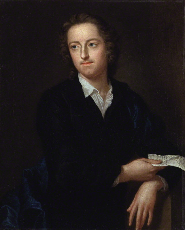 Thomas Gray, by John Giles Eccardt, oil on canvas, 1747-1748; National Portrait Gallery, London