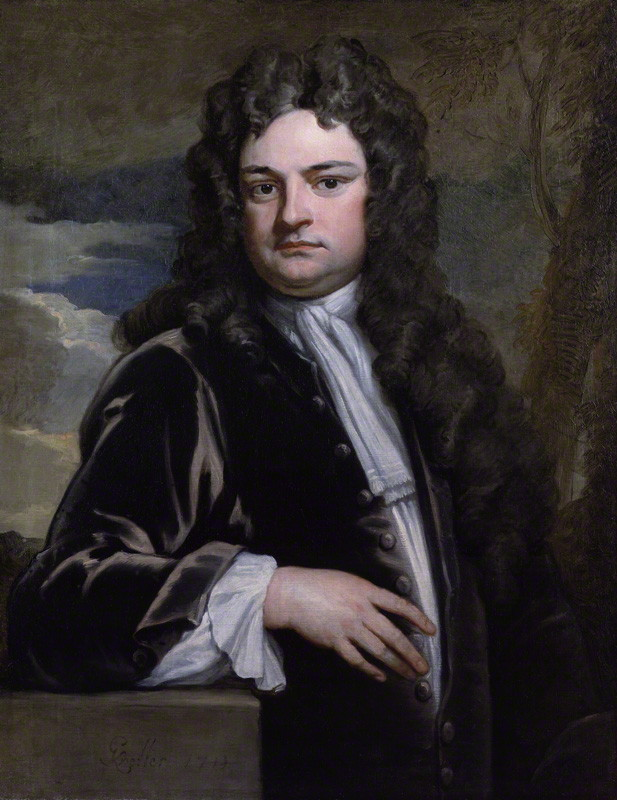 Sir Richard Steele, painted by Godfrey Kneller in about 1710 (National Portrait Gallery, London)