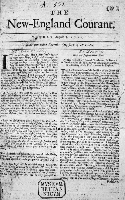 "benjamin franklin the ""silence dogood"" essays the open  the first issue of the new england courant 1721"
